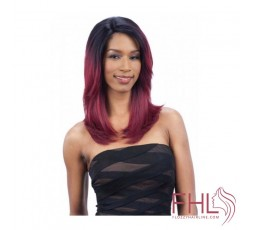 Lace Wig Perruque Freetress Equal Lace Wig Invisible L Part Kimmie