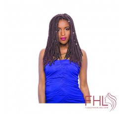 Janet Collection Mono Mambo Faux Locs 14""