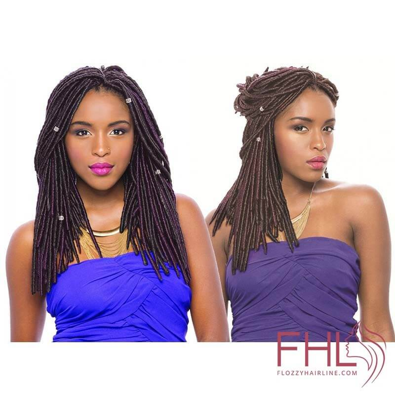 Mèche à Tresser Janet Collection Mono Mambo Faux Locs 14""