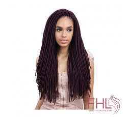 Freetress 2x Medium Soft Faux Locs 20""