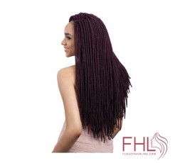 Mèche à Tresser Freetress 2x Medium Soft Faux Locs 20""