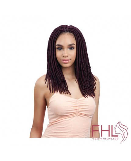 Mèche à Tresser Freetress 2x Soft Medium Faux Locs 12""