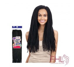 "Freetress 2x Large Soft Faux Locs 20"" Crochet Braid"