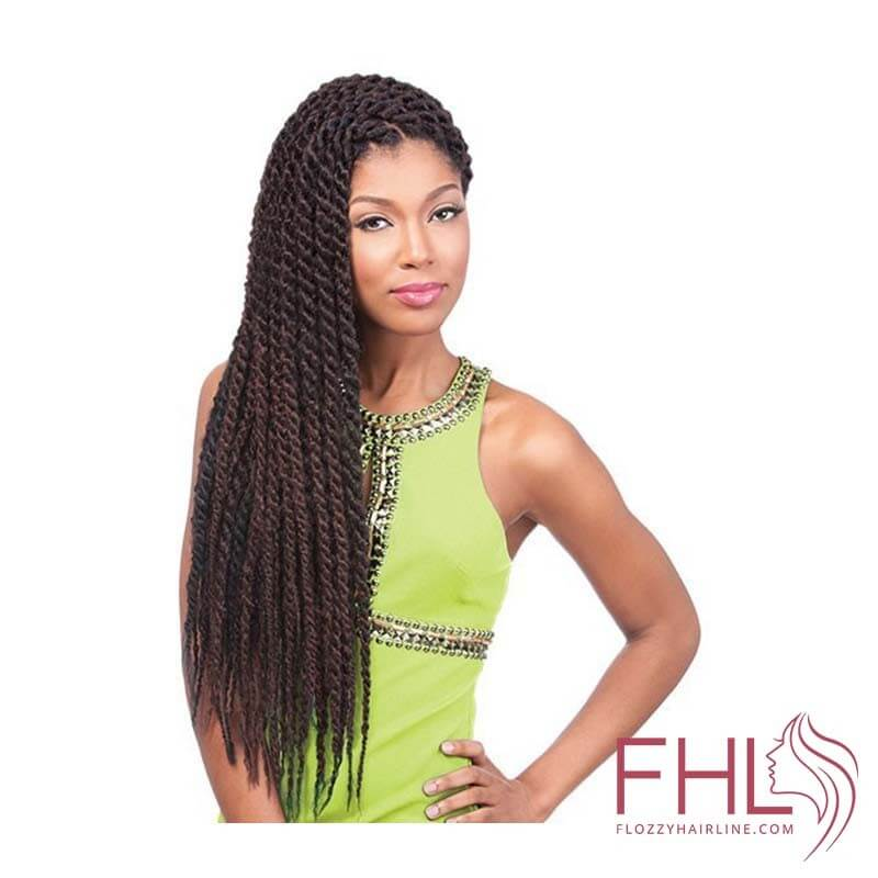 "Sensationnel African Collection Rumba Twist 60\"" Crochet Braid"