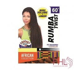 Mèche à Tresser Sensationnel African Collection Rumba Twist 60""