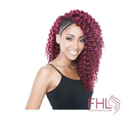 Isis Afri natte Senegal 2x Bantu Twist Braid 12\""