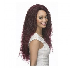 "Vivica Fox Latch Hook Loose Straw Curl 18\"" Crochet Braid"