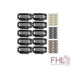 Accessoire de Coiffure Clips De Fixation 32mm pour Perruque