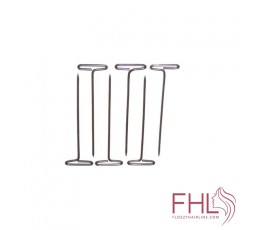Accessoire de Coiffure T-PINS 12pcs (Epingles en T pour Fixer Perruque)