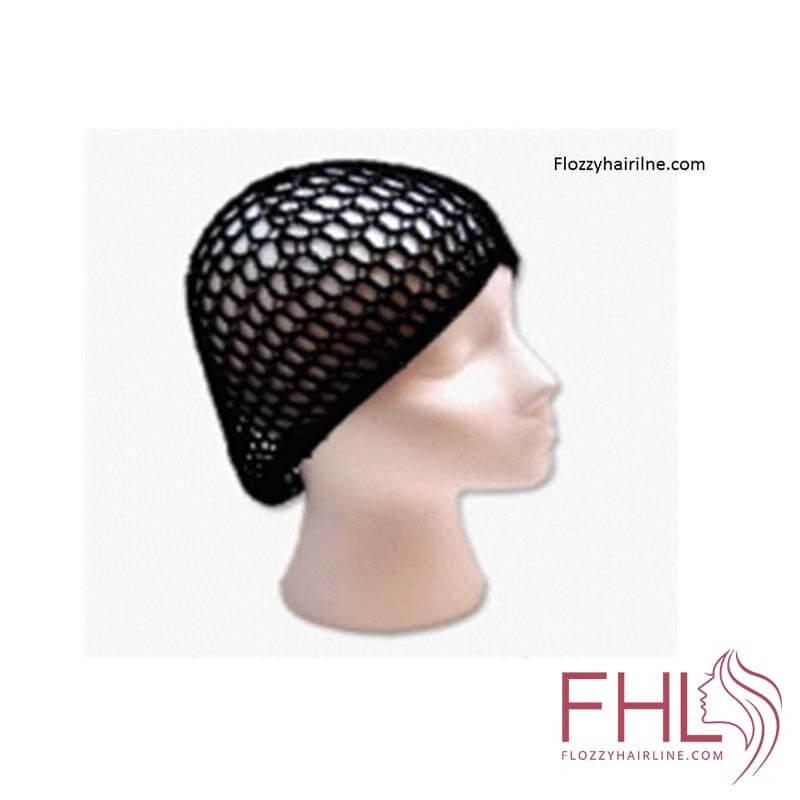 Accessoire de Coiffure Bonnet de Nuit en Filet (Ourlet Elastique Fort)