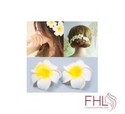 Accessoire de Coiffure Barrette à Cheveux Fleur Hawaiian Syn
