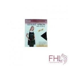 Accessoire de Coiffure Tablier Annie Noir avec poche