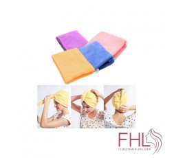 Accessoire de Coiffure Microfibre Magic Hair Drying Towel