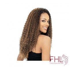 Model Model Glance natte Brazilian Curl Braid 20\""