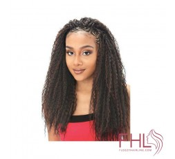 Model Model Glance Brazilian Curl Braid 20\""