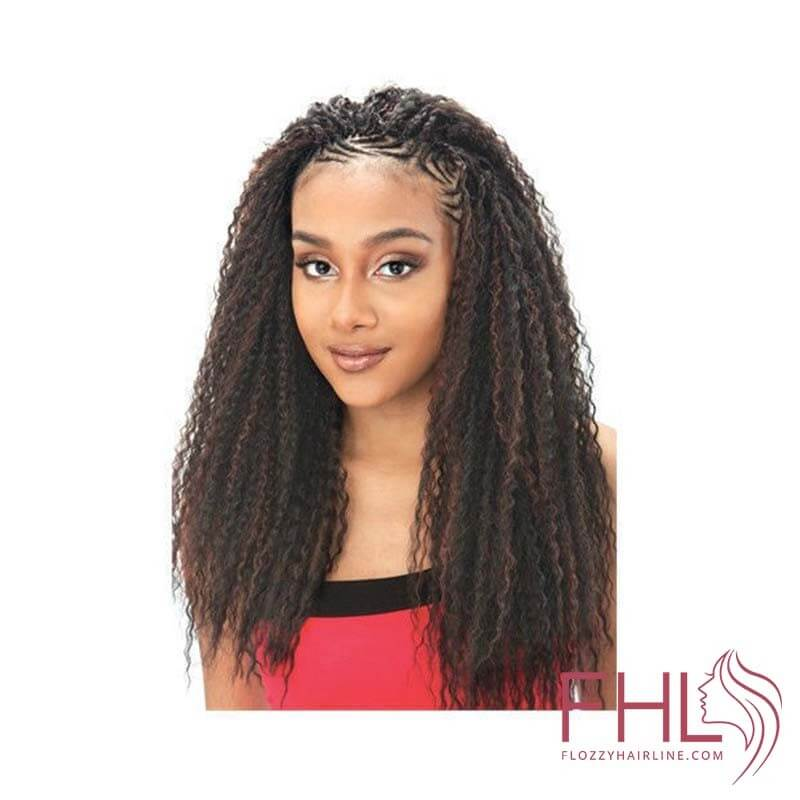 Mèche à Tresser Model Model Glance Brazilian Curl Braid 20""