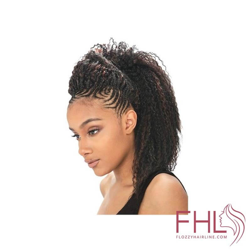 "Model Model Glance Brazilian Curl Braid 20"""