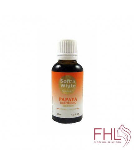 Soft n'White Papaya Sérum Eclaircissant 30ml