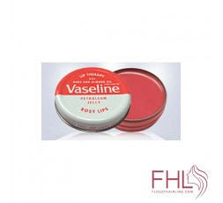 Vaselin Rose Almond Lip Therapy Petroleum Jelly