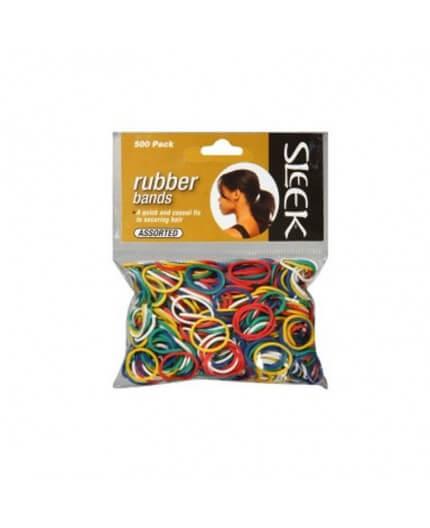 Sleek Collection Rubber Bands 250pcs