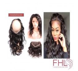"""360 Lace Frontal Cheveux Brésiliens Lisses 14\\"""""""