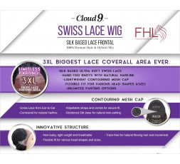 Sensationnel Cloud 9 Swiss Lace Perruque Maltida