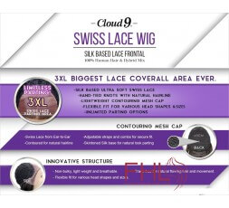 Sensationnel Cloud 9 Swiss Lace Perruque Isabella