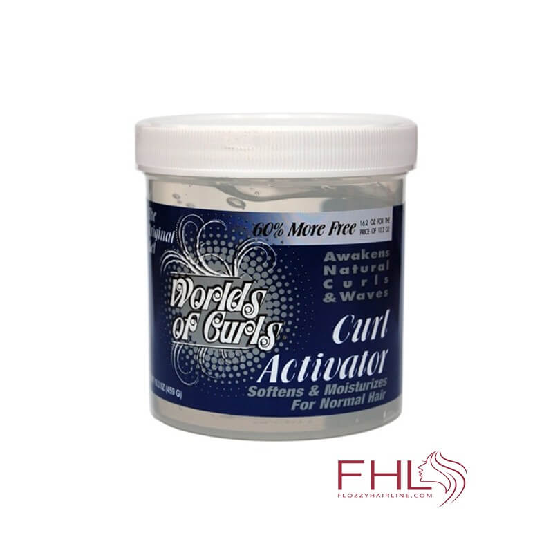 Gel Coiffant J Strickland World of Curls Activator Gel