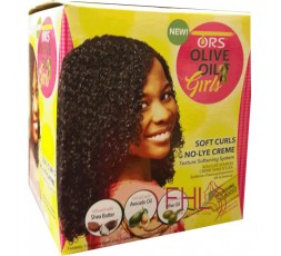 ORS Olive No Lye Curl Creme (Kit Assouplisseur de Boucles Enfant)