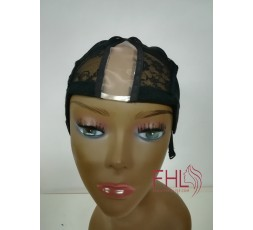 Bonnet U Part avec Filet Swiss Lace