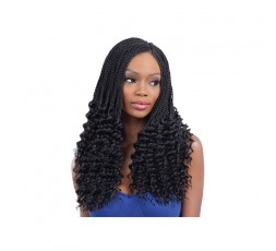 Freetress Pre Curled Lusty Twist Crochet Braid