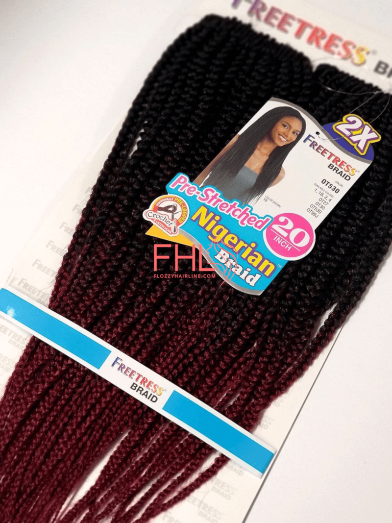 Freetress Pre-Stretched Nigerian Braid Crochet
