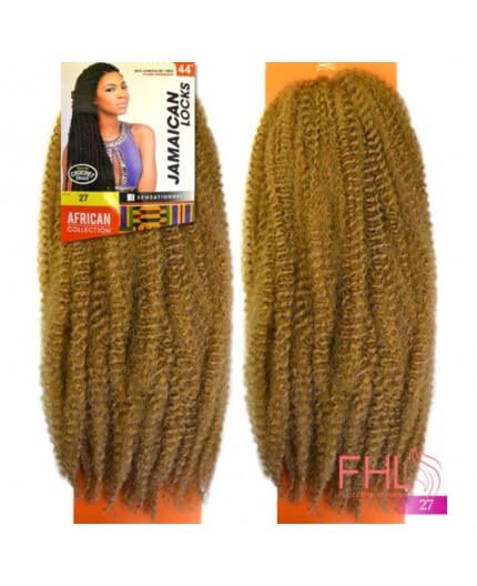 Coiffure Sensationnel JAMAICAN LOCKS BRAID 44""