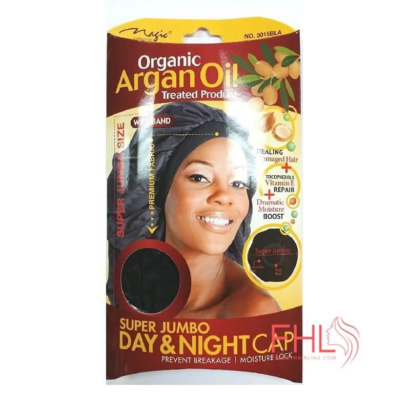 Accessoire de Coiffure Magic Collection Argan Oil Super Jumbo Bonnet