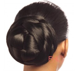 Coiffure Cherish Bun Bubble