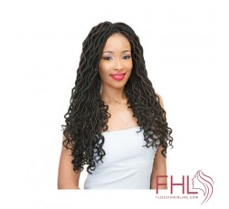 "Freetress Goddess Loc 18"" - Crochet Braid"