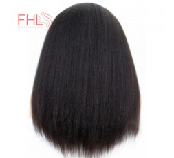 Coiffure 360 Lace Frontal Perruque Afro