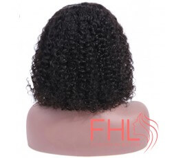 360 Curly Lace Frontal Perruque 8""