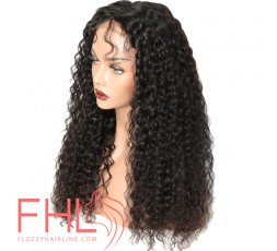 360 Curly Brazilian Lace Frontal Perruque 20""
