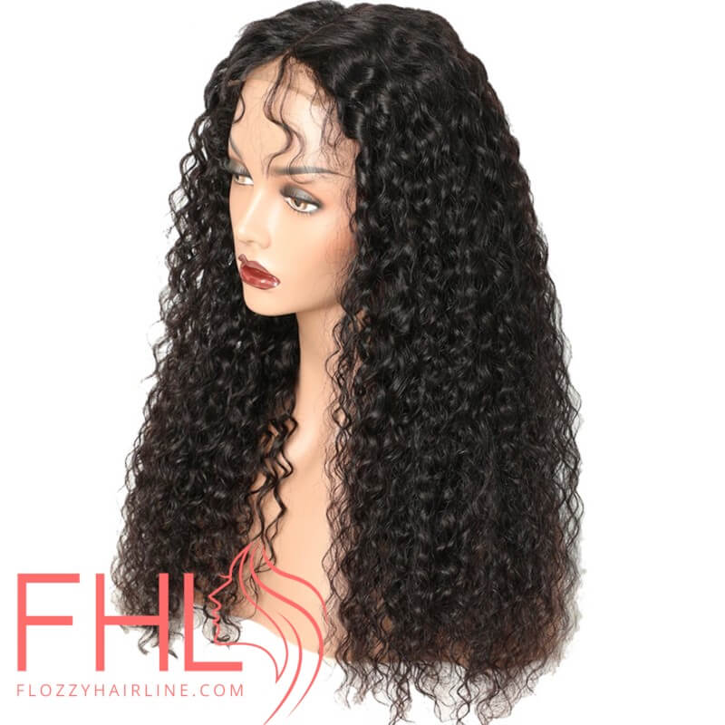 """Coiffure 360 Curly Brazilian Lace Frontal Perruque 20"""""""