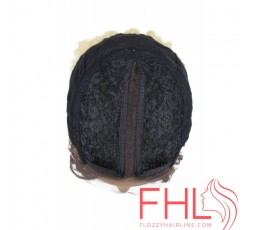Lace Wig Perruque Sensationnel Empress 6 Parting Kinky Curl Lace Wig