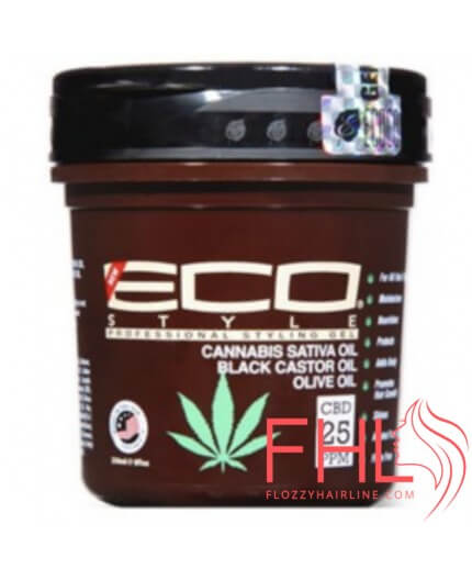 Soins cheveux ECO STYLER CANNABIS SATIVA OIL GEL