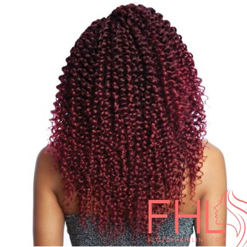 Crochet Braids Afri Naptural 3X Water Wave 14""