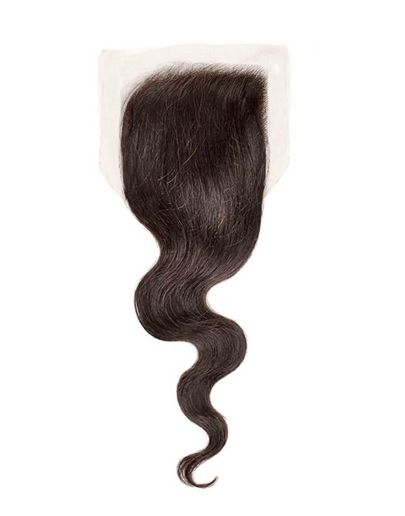 """Closure Cheveux Brésiliens 4*4 Ondulés 14\\"""""""