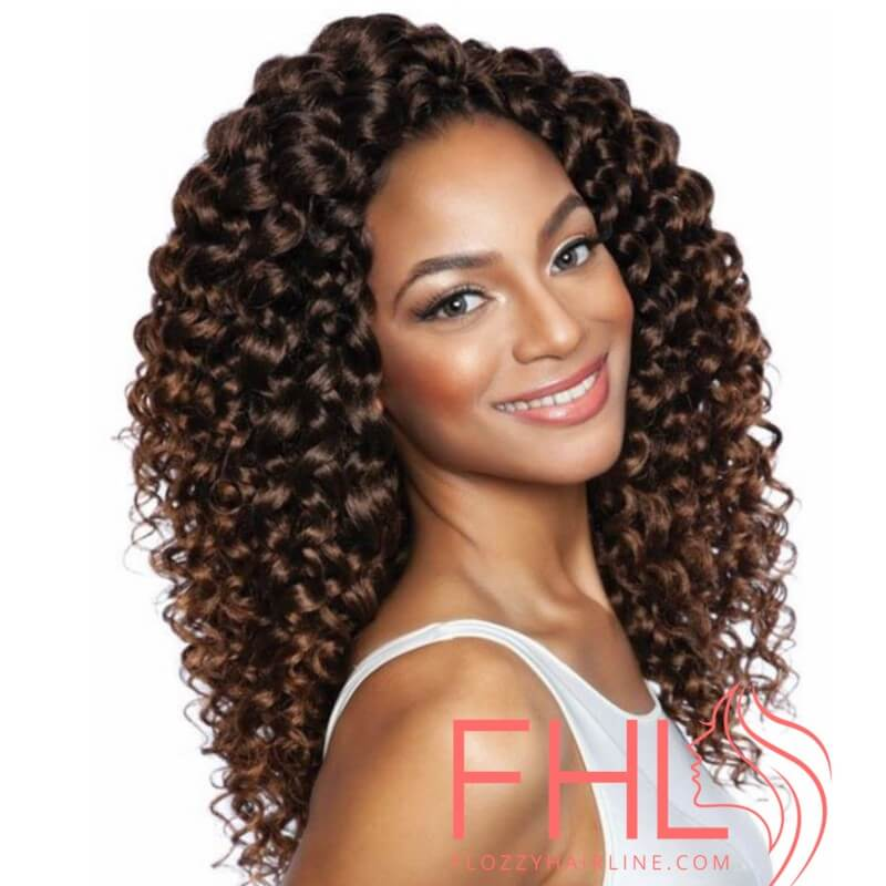 "Afri Naptural 3X Sassy Curl 14"" Pre Streched"