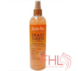 Soins Tresses Salon Pro Brazilian Keratin Braid Sheen Spray