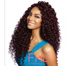 Afri Naptural 3x Paradise Curl Pre Looped Crochet 18""