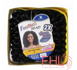Freetress Braid 2X Soft Baby Curl