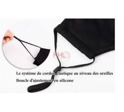 Masque Lavable Réutilisable avec Filtre