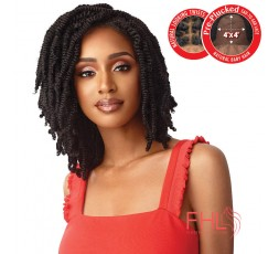Outre Lace Wig Straight Bomb Twist 14